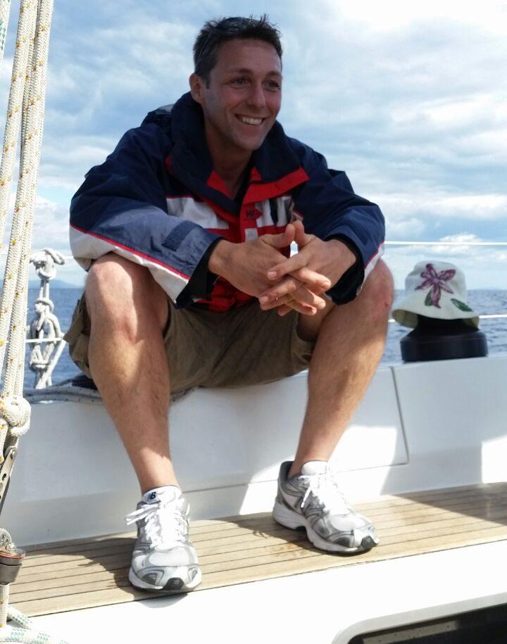 Lo skipper Fabio Fava: crociere e vacanze in barca a vela su Allegra