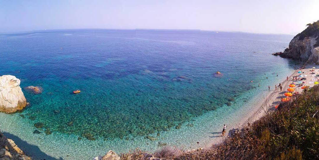 L'isola d'Elba, il mare e la costa