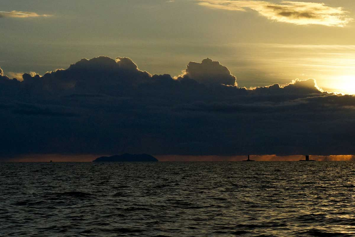 L'isola di Gorgona in barca a vela